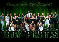 PJHS LADY PIRATES BASKETBALL 2017
