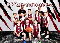 5x7 boys 10-11 team 4 WARRIORS