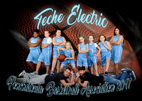 5x7 9-11 Girls Teche Electric