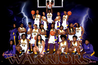 8X12 AMITE LADY WARRIORS BASKETBALL TEAM